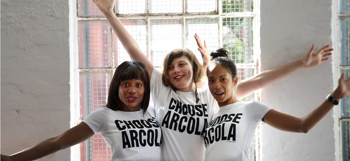 Arcola Theatre is running the Hackney Half